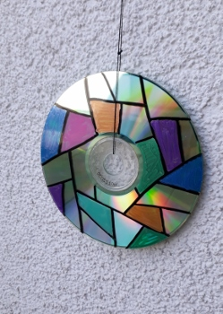 CD Upcycling Mandala 5