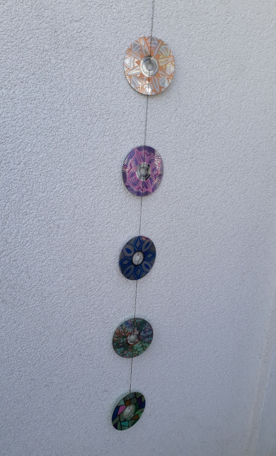 CD Upcycling Mandala 3